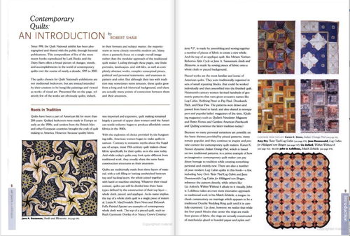 Contemporary Quilts by Robert Shaw by