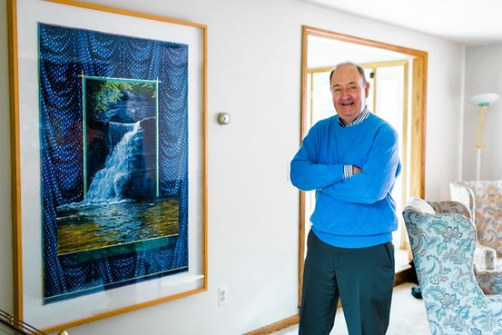 Jack Walsh with Jack's Falling Water by Fraas and Slade