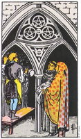 3 of Pentacles tarot card