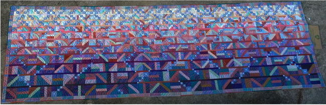Untitled quilt by Pameka Studstill